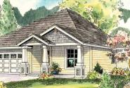 Ravenden - 30-712 - Craftsman Home Plan - Front Elevation