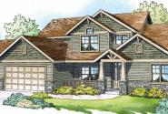 Yellowwood - 30-728 - Craftsman Home Plan - Front Elevation