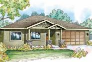 Dogwood - 30-748 - Craftsman Home Plan - Front Elevation