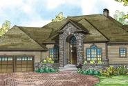 Addison - 30-795 - Estate Home Plan - Front Elevation