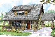 Greenwood - 70-001 - Green Standard Home Plans - Front Elevation