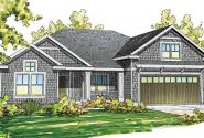 Greenleaf - 70-002 - Green Standard Home Plans - Front Elevation