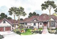 Applegate - 10-403 - European Home Plans - Front Elevation