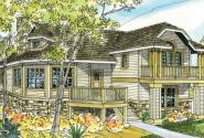 Eagle Creek - 30-725 - Cottage Home Plan - Front Elevation