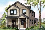 Eastlake - 30-869 - Townhome Plan - Front Elevation