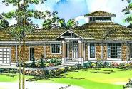 Clematis - 10-073 - Cape Cod Home Plans - Front Elevation