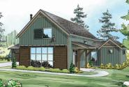 Fairheart - 10-600 - Ranch Home Plan - Front Elevation