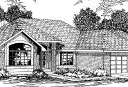 Camden - 30-051 - Traditional Home Plans - Front Elevation