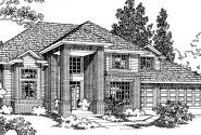 Arolee - 30-142 - Traditional Home Plan - Front Elevation