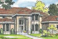 Lucardo - 30-181 - Estate Home Plan - Front Elevation