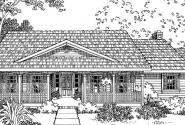 Redmond - 30-226 - Country Home Plan - Front Elevation