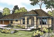 Chatsworth - 30-227 - Mediterranean Home Plan - Front Elevation