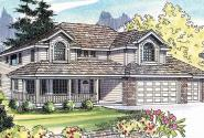 Kaitlyn - 30-338 - Country Home Plan - Front Elevation