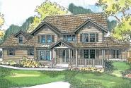 Eganville - Country Home Plan - Front Elevation