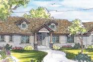 Maxwell - 30-458 - Craftsman Home Plan - Front Elevation