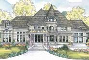 Canterbury - 30-516 - Victorian Home Plan - Front Elevation