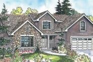Radbourne - 30-562 - Contemporary Home Plan - Front Elevation