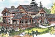 Stratford - 30-615 - Craftsman Home Plan - Front Elevation