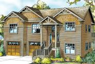Snowberry - 30-735 - Cape Cod Home Plan - Front Elevation
