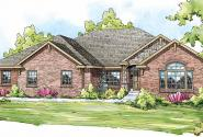 Winterberry - 30-742 - European Home Plan - Front Elevation