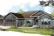 Springwood - 30-772 - Traditional Home Plan - Front Elevation