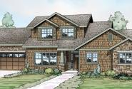 Cloverport - 30-802 - Shingle Style Home Plans - Front Elevation