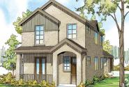 Rock Creek - 30-821 - Townhome Plan - Front Elevation