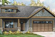 Shasta - 30-866 - Country Home Plan - Front Elevation