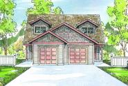 Braydon - 60-012 - Duplex/Multi-Family Plans - Front Elevation
