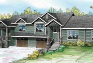 Vancouver - 60-031 - Duplex/Multi-Family Plan - Front Elevation