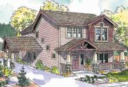 Bungalow House Plan - Maplecreek 30-591 - Front Elevation