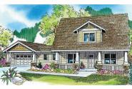 Bungalow House Plan - Wisteria 30-655 - Front Elevation