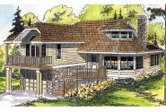 Cape Cod House Plan - Winchester 30-003 - Front Elevation