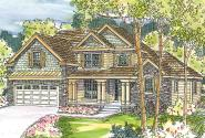 Chateau House Plan - Fitzgerald 30-492 - Front Elevation