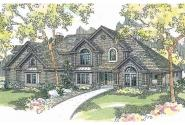 Classic House Plan - Bellingham 30-429 - Front Elevation