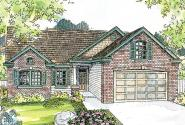 Classic House Plan - Glenbarr 30-457 - Front Elevation