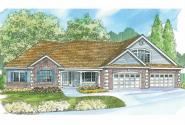 Classic House Plan - Wellesley 30-494 - Front Elevation