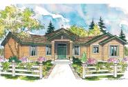 Contemporary House Plan - Forsythia 10-426 - Front Elevation
