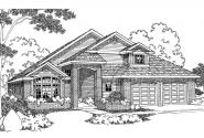Contemporary House Plan - Gilcrest 30-270 - Front Elevation