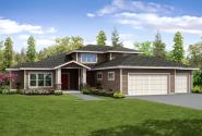 Contemporary House Plan - Quail Ridge 31-060 - Front Elevation