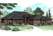 Contemporary House Plan - Sedalia 10-231 - Front Elevation