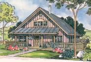 Cottage House Plan - Cordell 30-185 - Front Elevation