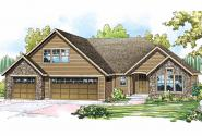 Cottage House Plan - Gladstone 30-786 - Front Elevation