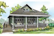 Cottage House Plan - Lyndon 30-769 - Front Elevation