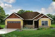 Cottage House Plan - Northfield 30-972 - Front Elevation