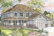 Country House Plan - Craigmont 30-464 - Front Elevation