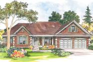 Country House Plan - Elmore 30-169 - Front Elevation