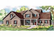 Country House Plan - Glendale 30-750 - Front Elevation