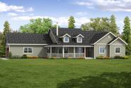Country House Plan - Hayden 30-981 - Front Elevation