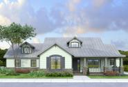 Country House Plan - Northglenn 10-594 - Front Elevation